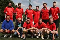Vítěz 18. Ligového poháru FAMK - Knockout 83 team.