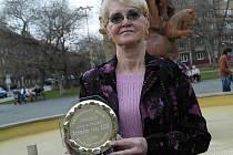 Loňská vítězka v kategorii Zpěvačka roku Dagmar Kamenická