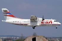 Na Acrobatshow mělo přiletět i dvoumotorové dopravní letadlo ATR 42.