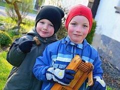 Děti vyrazily na koledu také v Bezděkově.