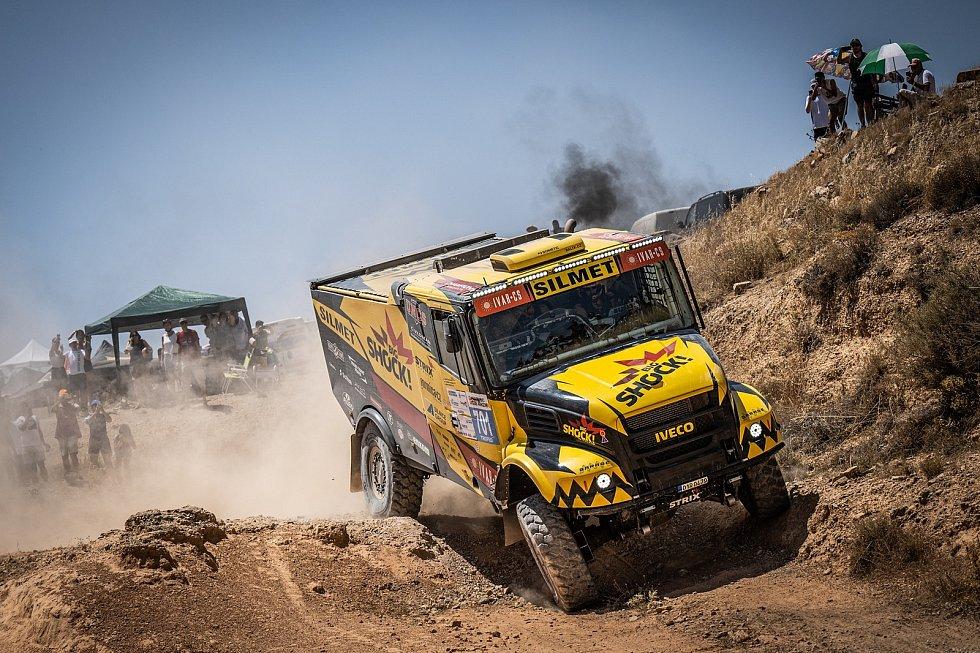 Sedlčanský Big Shock! Racing tým během španělského závodu Baja Aragon.