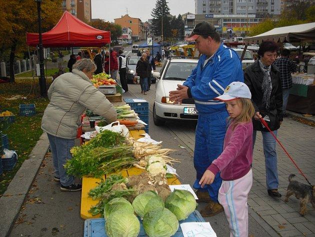 Farmářské trhy v Příbrami.