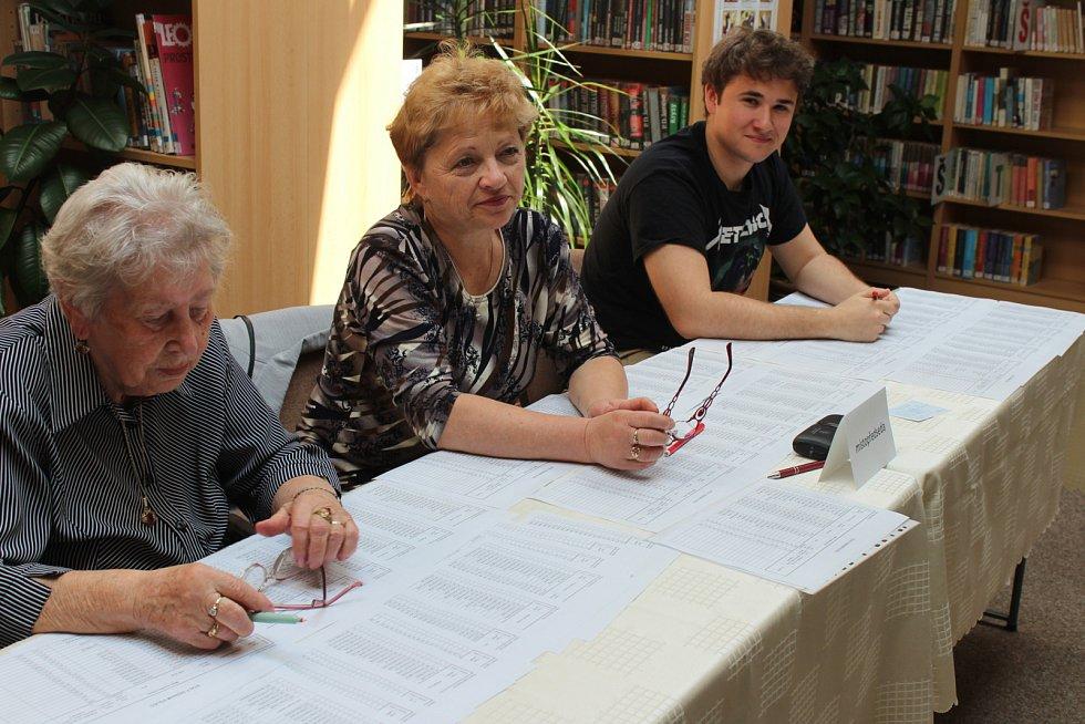 Volby do Evropského parlamentu ve Staré Huti.