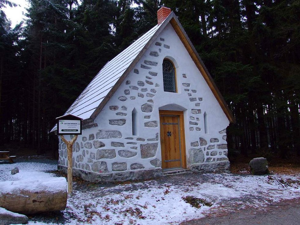 Třemšínská kaple po opravě.