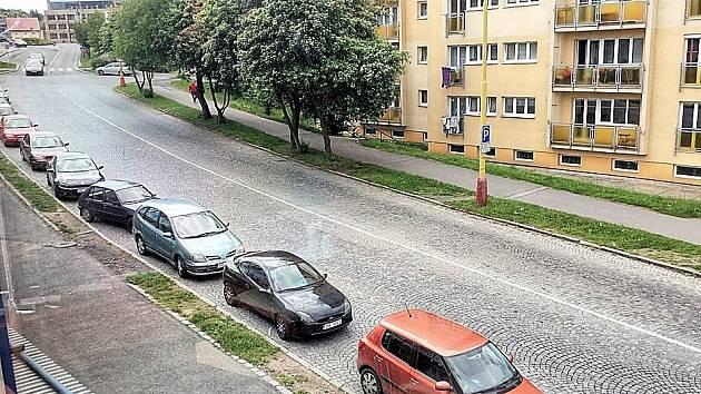 Plzeňská ulice.