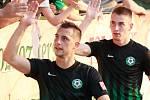 Duel FNL 1. FK Příbram - Hradec Králové 2:0.