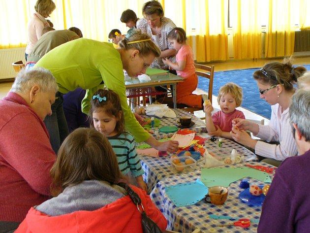 Víkendové velikonoční dílny v Domu dětí a mládeže v Příbrami