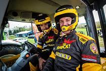Martin Macík se zúčastnil 54. ročníku Rallye Šumava Klatovy. Závodil v Traktoru.