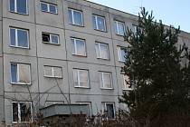 Dům v Rožmitále, kde se stala vražda.