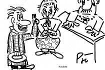 Kreslený humor Kocábky. A jdeme dál.
