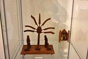 Výstava betlémů v dobříšském muzeu.