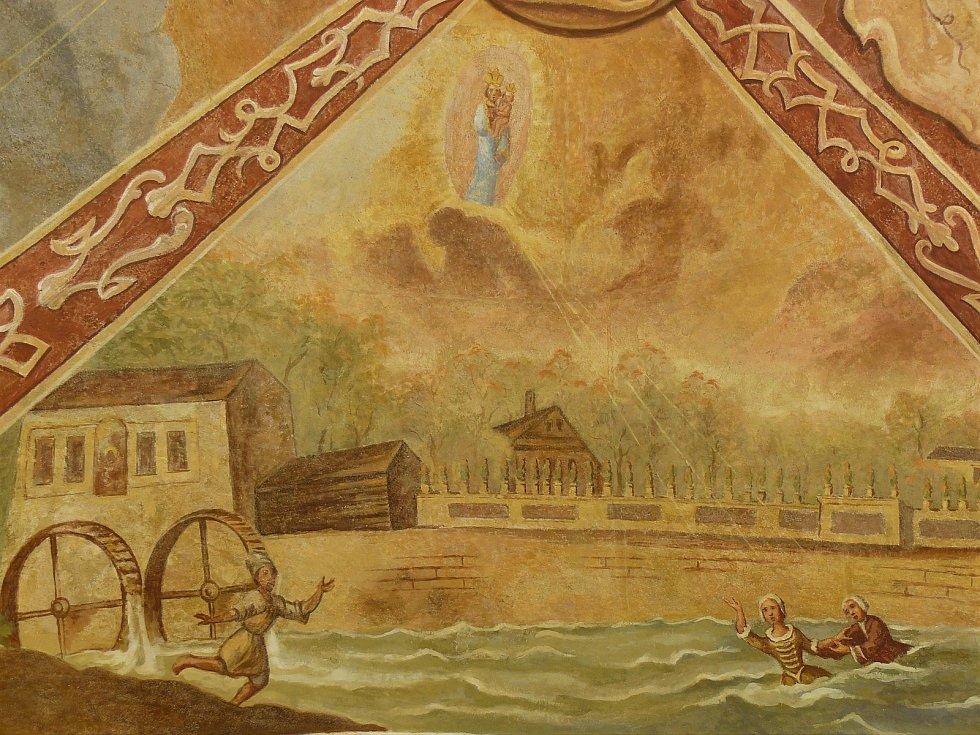 Sto svatohorských milostí: obraz číslo 94.