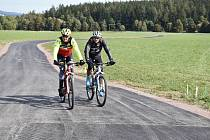 Do Brd se zatím cyklisté nejlépe dostanou před Bohutín.