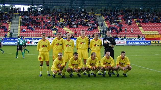 Utkání Poháru UEFA Marila Příbram  Sedan z roku 2001.