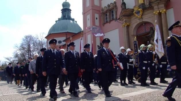 Oslavy svatého Floriána.