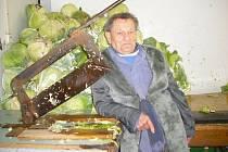 Václav Vostarek, krouhárna Drásov.