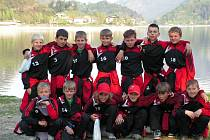 Přípravka 1.FK Příbram v italském Valle di Ledro.