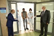 Slavnostní otevření neurologického oddělení v příbramské nemocnici.