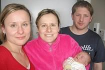 V pátek 1. března maminka Šárka a tatínek Honza z Příbrami poprvé sevřeli v náručí svoje první štěstíčko – dcerku Terezku Vondráškovou, která v ten den vážila 3,14 kg a měřila 49 cm.  Radost z malé neteřinky má teta Renča.