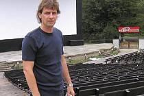 Bývalý provozovatel letního kina v Příbrami Martin Severa
