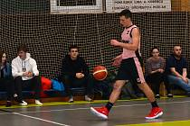 Příbramský basketbalista Vojtěch Ureš.