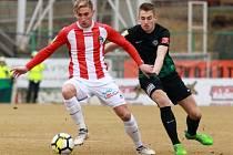 Zápas FNL 1. FK Příbram - Viktoria Žižkov 4:2.