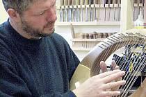 Na lyru hrající Rostislav Anton