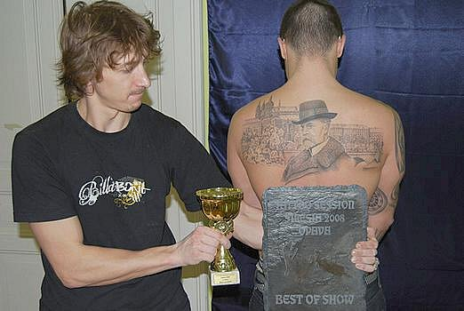 Tetování z dílny PD tattoo salon