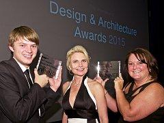 Třiadvacetiletý Marek Plaček získal v Londýně 25. září hned dvě ocenění Design & Architecture Awards 2015.