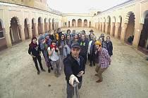 Studenti v Maroku.