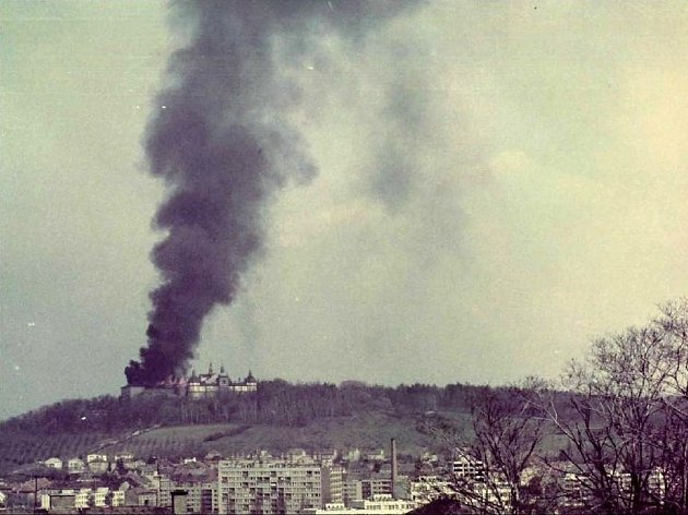 K požáru Svaté Hory došlo 27. dubna 1978.