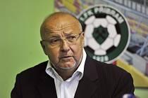 Prezident 1. FK Příbram Jaroslav Starka.