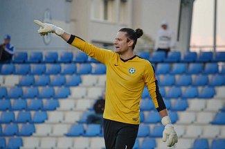 Marek Boháč při utkání v Mladé Boleslavi.