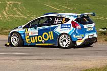 Ze závodu Rally Příbram
