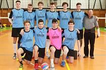 Republikové finále Sportovní ligy středních škol ve volejbalu se uskutečnilo v Jindřichově Hradci. Foto: Josef Böhm