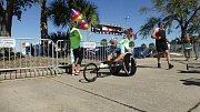 Fotoreport z poslední závodu světového poháru v Sarasotě, kde paratriatlonista Jan Tománek obsadi