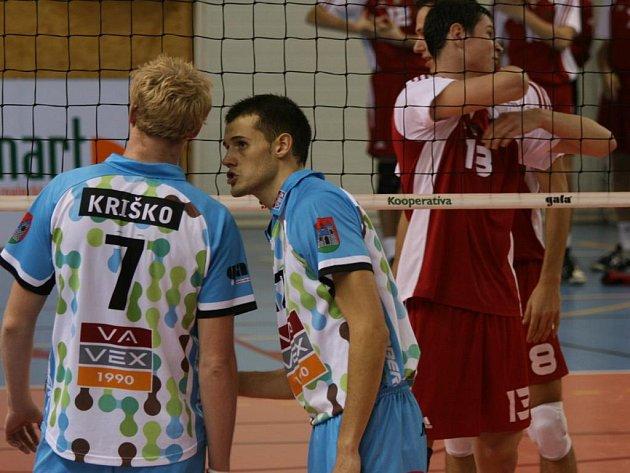 Extraliga volejbalu: Příbram - ČZU Praha (3:0).