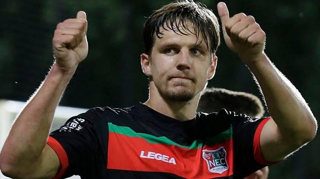 Fotbalista nizozemského druholigového týmu NEC Nijmegen Josef Kvída.