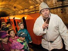 Březohorské podzemí v sobotu ožije ťukáním želízek a mlátků havířů.