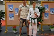 Matěj Klíma na turnaji v Györu.