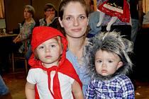 Z dětského karnevalu v Čenkově.