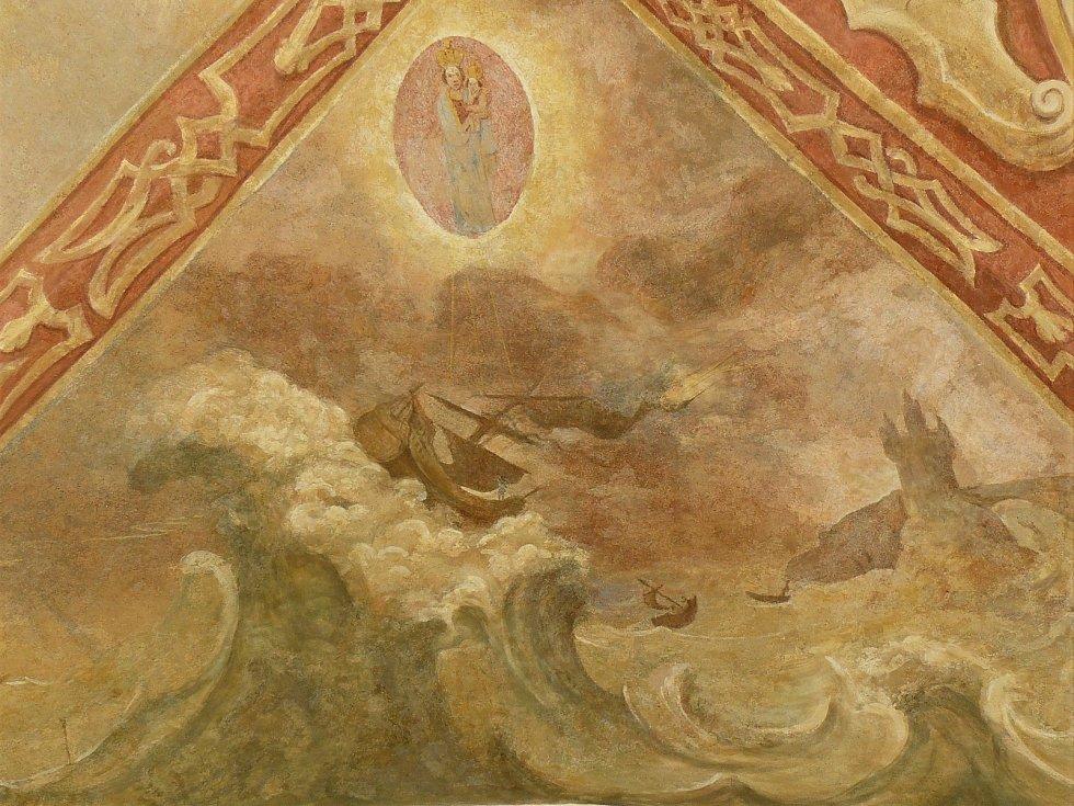 Sto svatohorských milostí: obraz číslo 74.