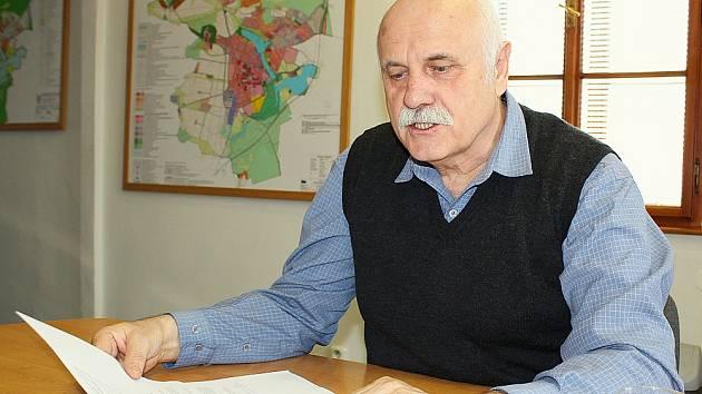 Starosta Dobříše Stanislav Vacek (STAN).