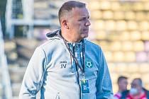 Trenér Příbrami Jozef Valachovič.