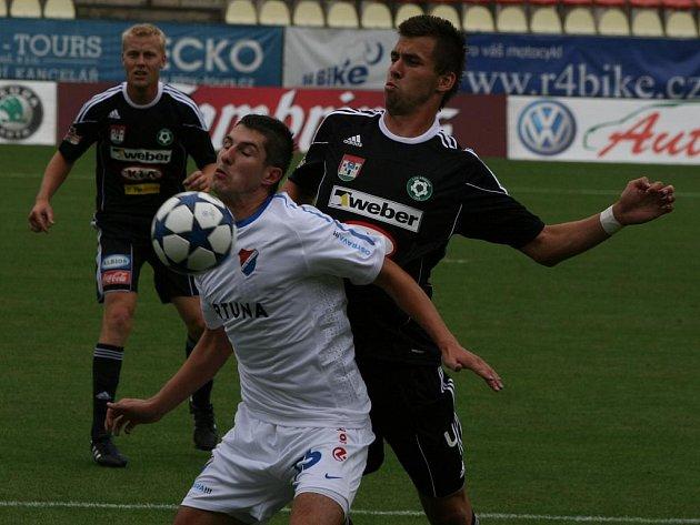 1. kolo Gambrinus ligy 10/11: Příbram - Ostrava (0:0).
