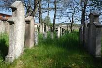 Židovský hřbitov v Dobříši.