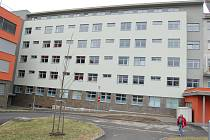 Oblastní nemocnice Příbram, opravený monoblok D3.
