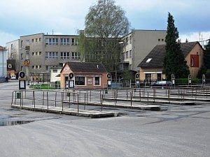 Autobusové nádraží v Sedlčanech