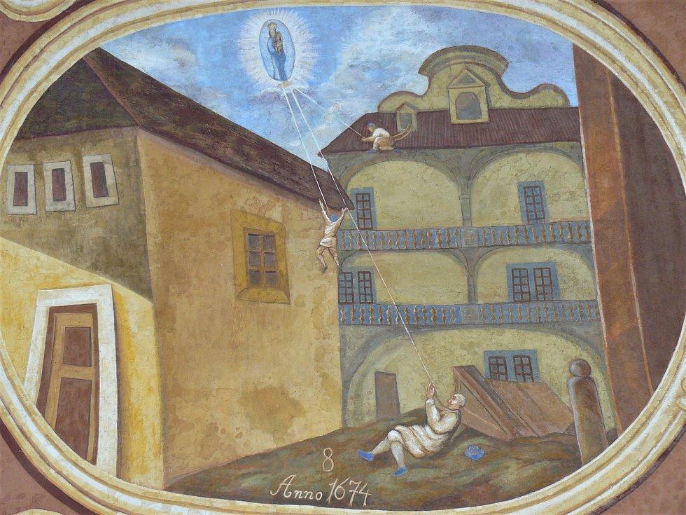 Sto svatohorských milostí: obraz číslo 8.