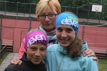 Zleva: Bára Placatková, Kateřina Chrastinová a Veronika Novotná.